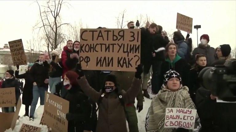 Prosvjed u Rusiji