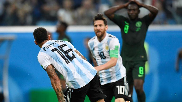 Rojo i Messi slave gol Nigeriji
