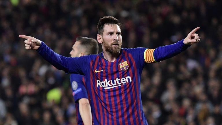 Messi slavi pogodak