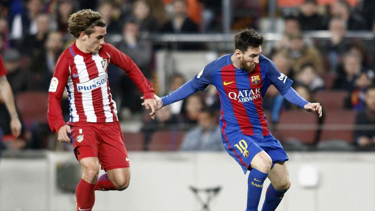 Uskoro suigrači? Antoine Griezmann i Lionel Messi