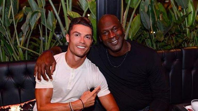 Cristiano Ronaldo i Michael Jordan