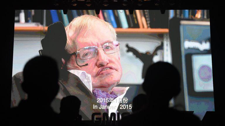 Stephen Hawking (Foto: AFP)