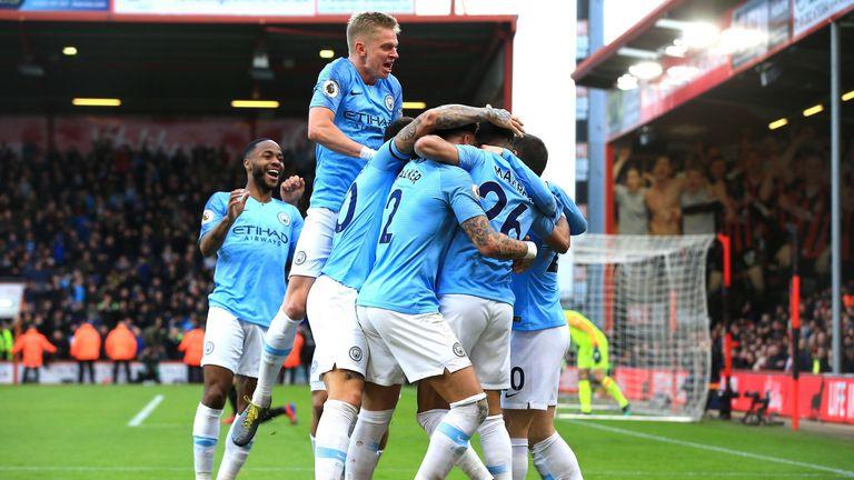 Slavlje Manchester Cityja