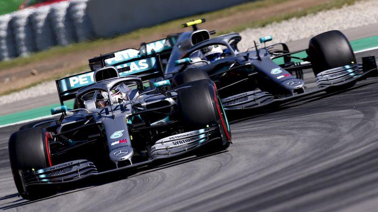 Hamilton ispred Bottasa