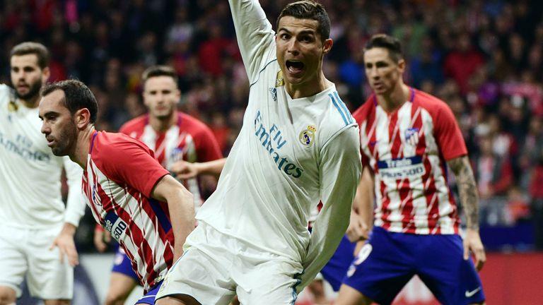 Cristiano Ronaldo i Juanfran
