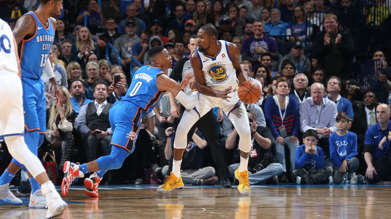 Russell Westbrook i Kevin Durant