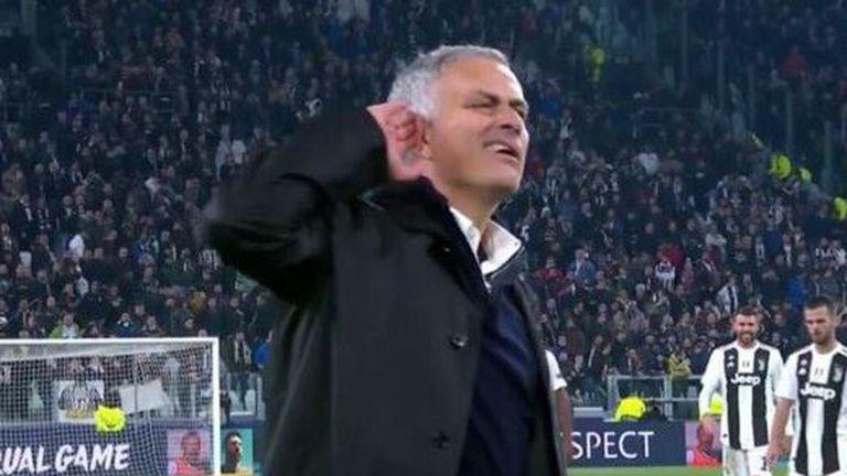 Jose Mourinho provocira navijače Juventusa