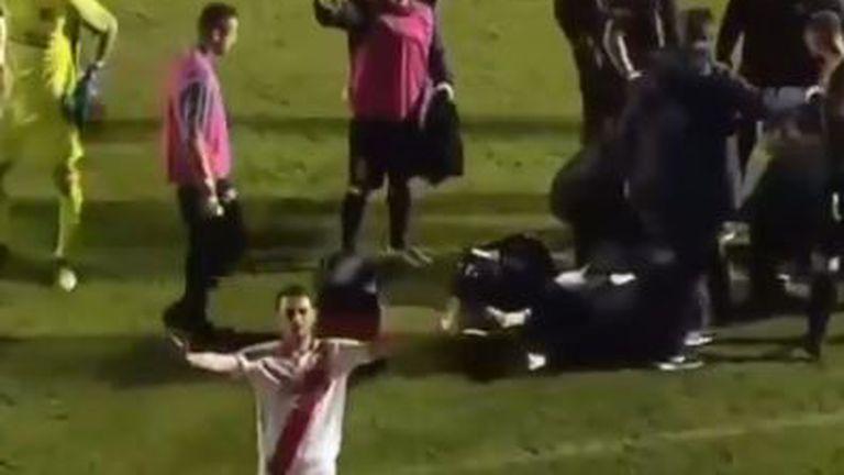 Incident na utakmici Zrinjski - Sarajevo