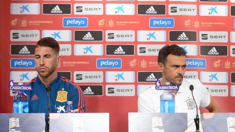 Sergio Ramos i Luis Enrique