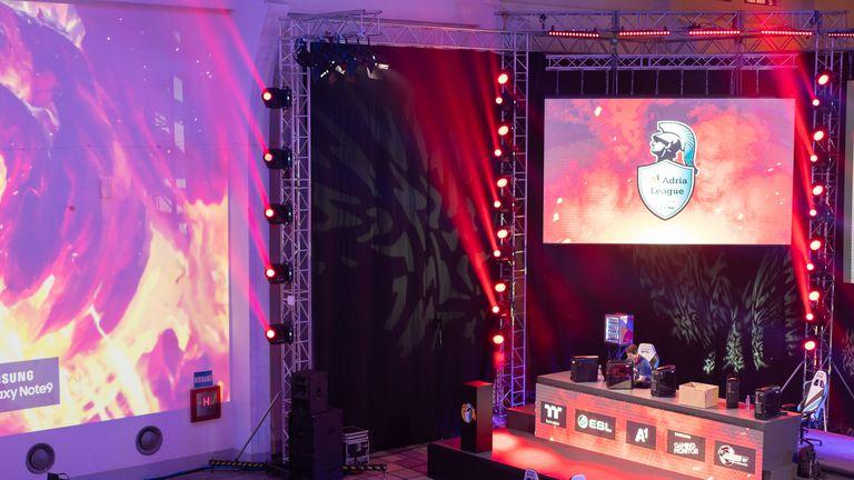 Gaming Arena A1 Adria League (Foto: A1)