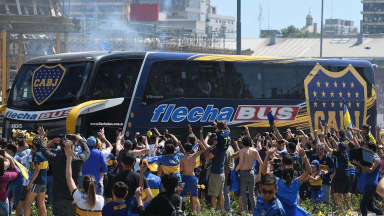 Autobus nogometaša Boce napadnut od strane huligana