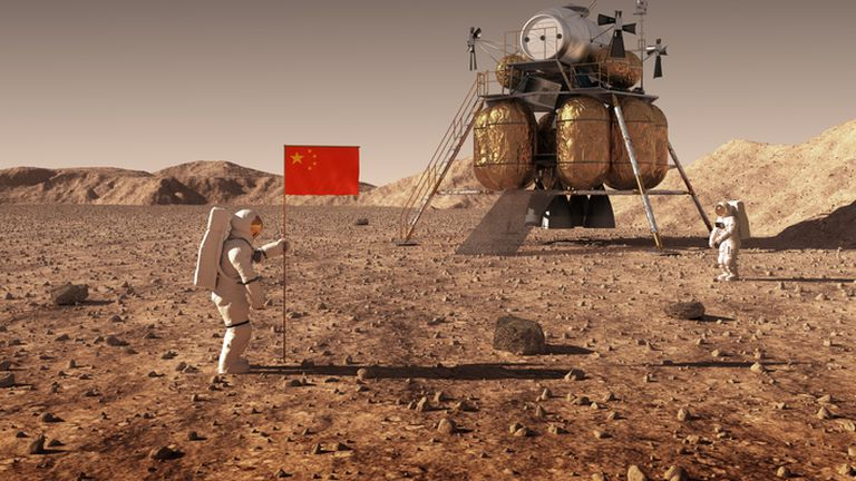 Kinezi na Mjesecu
