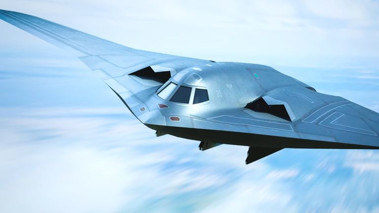 Stealth bombarder
