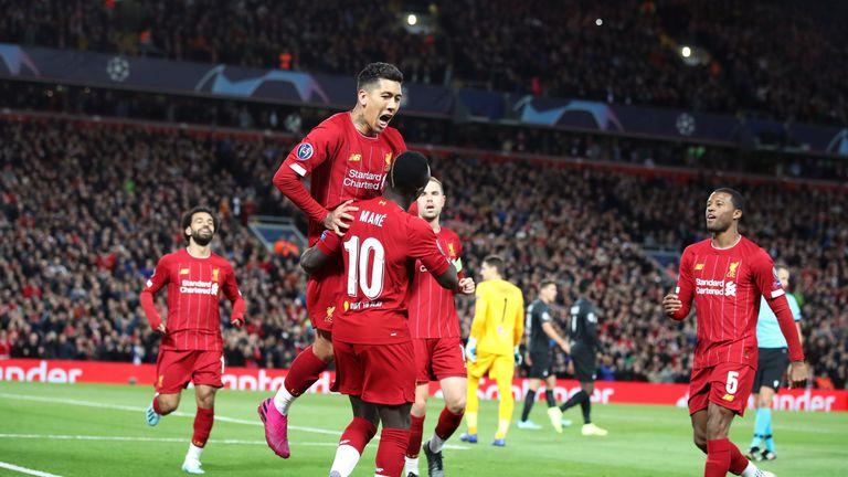 Slavlje igrača Liverpoola