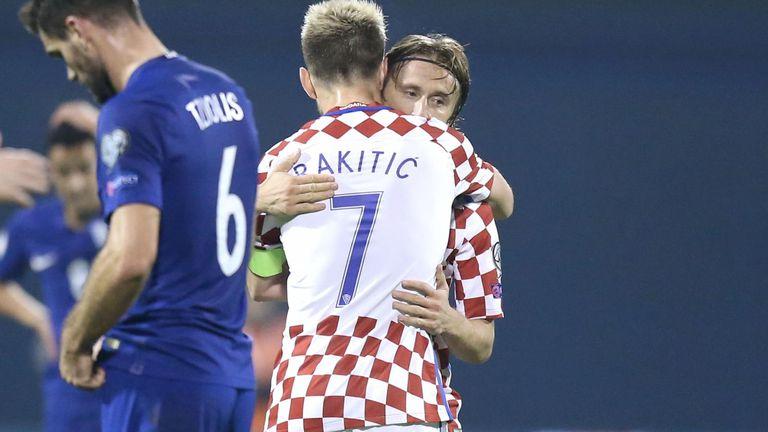Luka Modrić i Ivan Rakitić