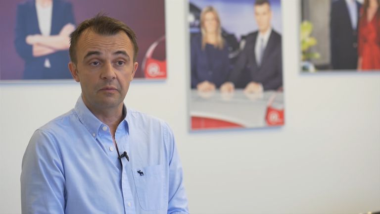 Dražen Mavrić, predsjednik Uprave NoveTV
