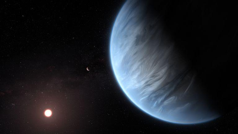 Planet K2-18b (Foto: AFP)