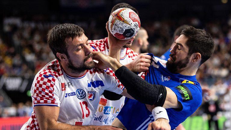 Karabatić u akciji protiv Hrvatske