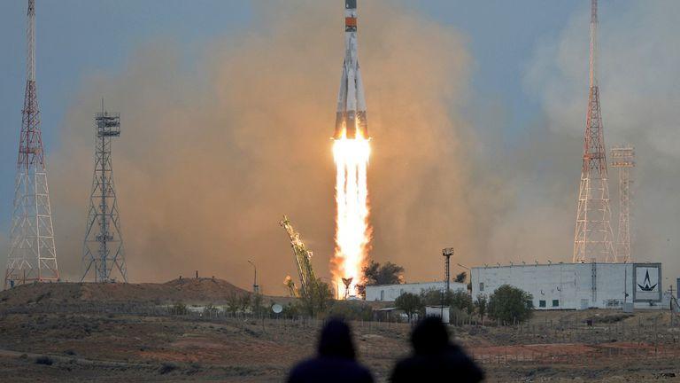 Lansiranje ruske rakete (Foto: Arhiva/AFP)