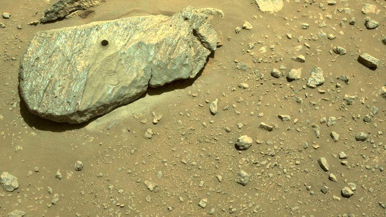Kamen iz kojeg je uzet uzorak