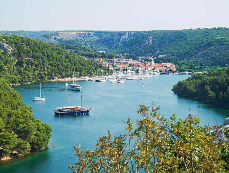 Skradin, Krka riverside, national park krka, šibenik, zadar, attractions, www.zadarvillas.com