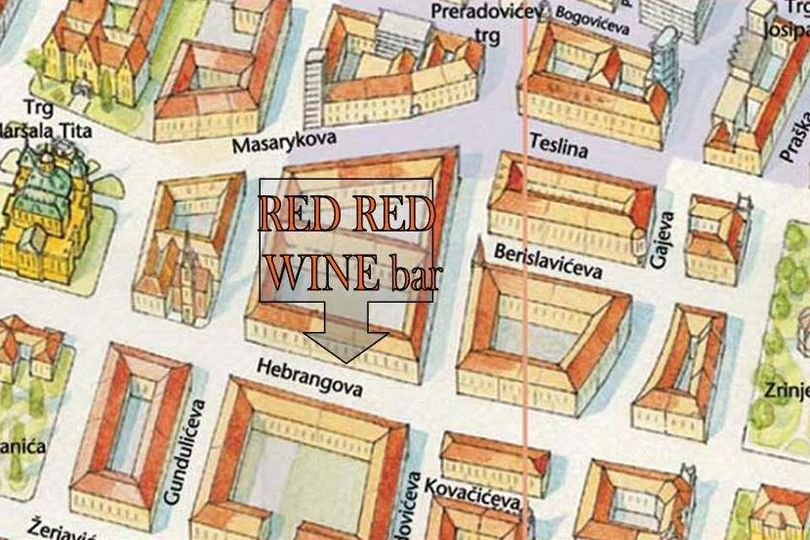 Red Red Wine bar Zagreb