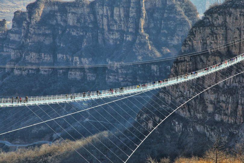 Najduži stakleni viseći most - 5