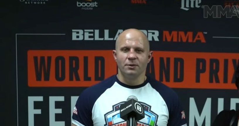 Fedor Emelianenko (Screenshot YouTube)