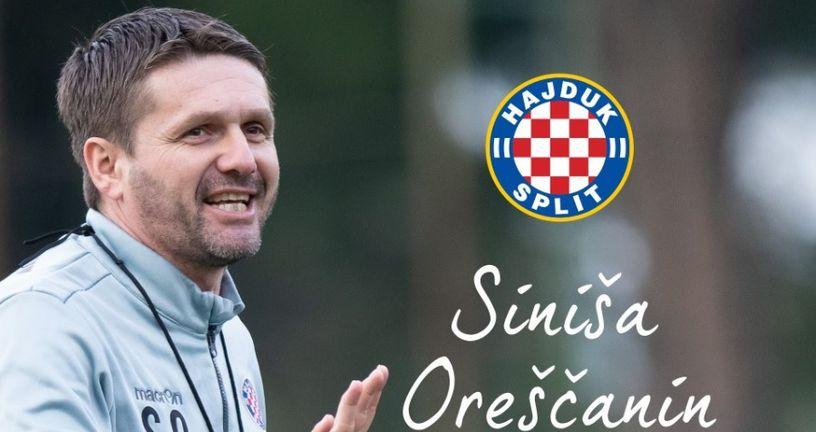 Siniša Oreščanin (Foto: HNK Hajduk Facebook)