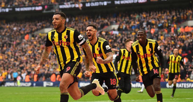 Watford slavi pogodak u polufinalu FA Cupa (Foto: AFP)