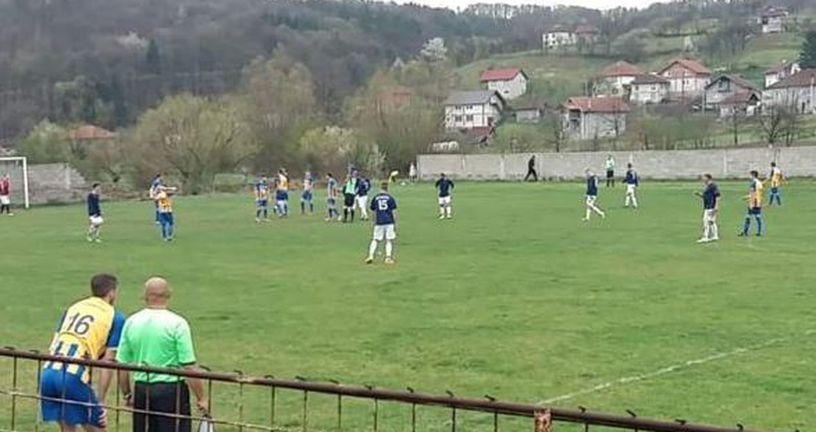 Nižerazredna utakmica u BiH (Screenshot)