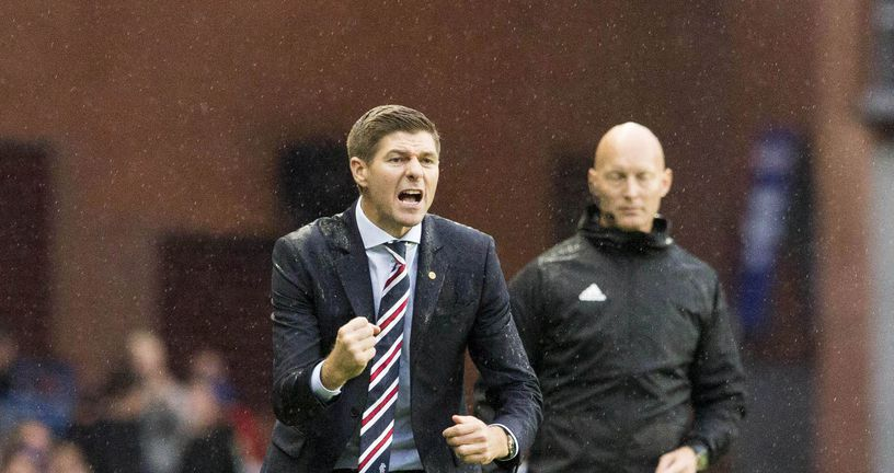 Steven Gerrard, trener Rangersa (Foto: Jeff Holmes/Press Association/PIXSELL)