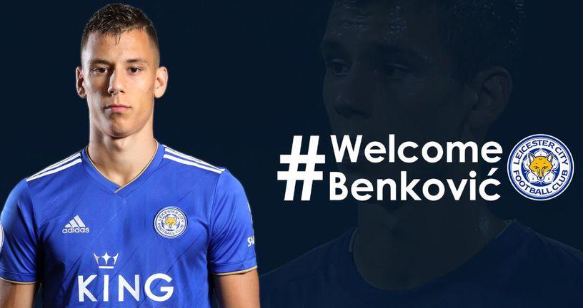 Filip Benković u dresu Leicestera (Foto: Leicester Twitter)