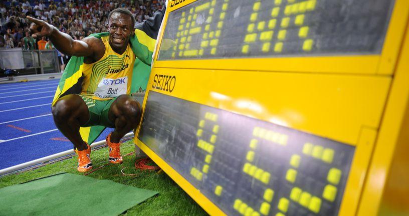 Boltov svjetski rekord na 100 metara (Foto: AFP)