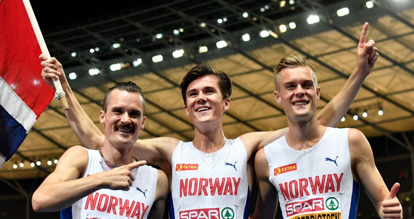 Braća Ingebrigtsen (Foto: AFP)