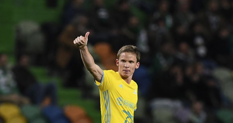 Marin Tomasov slavi pogodak (Foto: AFP)