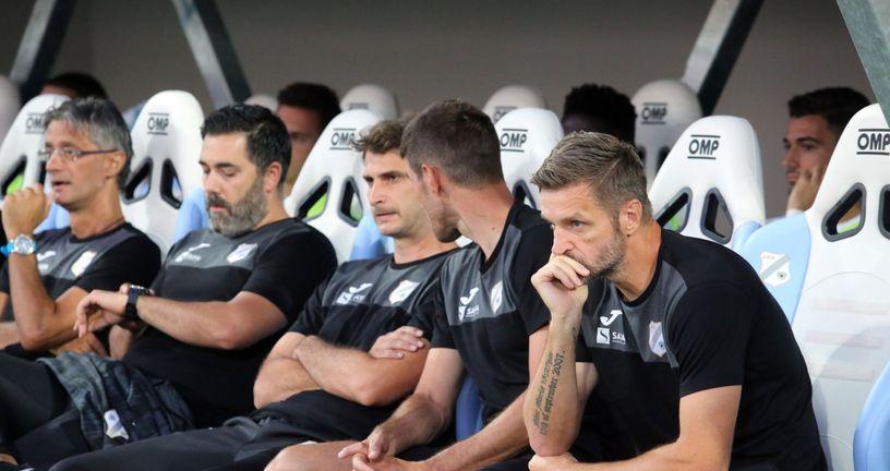 Trener Rijeke Igor Bišćan (Photo: Goran Kovacic/PIXSELL)