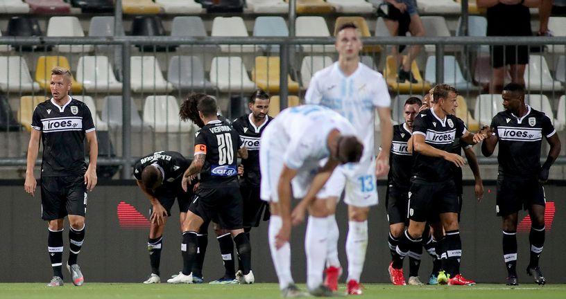 Slavlje igrača PAOK-a