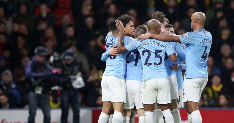 Slavlje Manchester Cityja (Foto: Nick Potts/Press Association/PIXSELL)