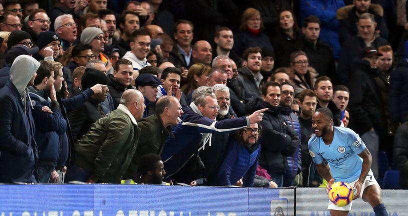 Chelseajevi navijači vrijeđali Sterlinga (Foto: Steven Paston/Press Association/PIXSELL)