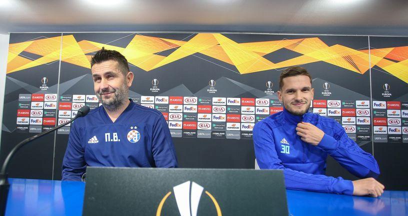 Nenad Bjelica i Petar Stojanović (Foto: Luka Stanzl/PIXSELL)