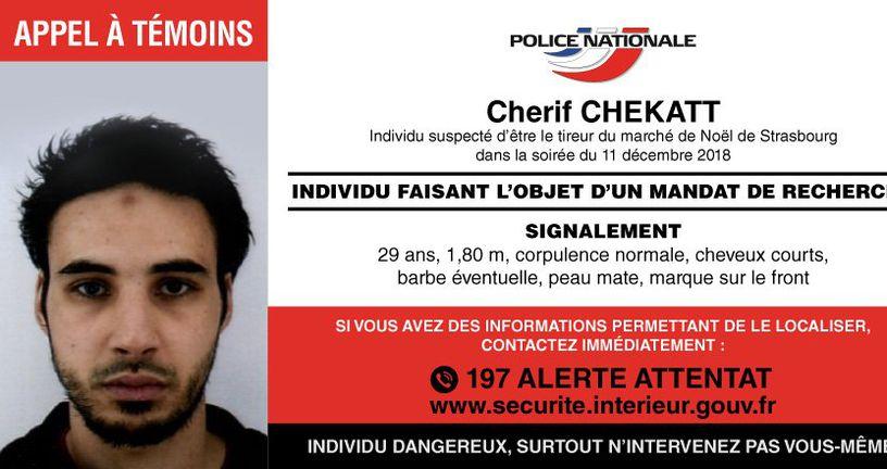 Apel policije građanima (Foto: Francuska policija)