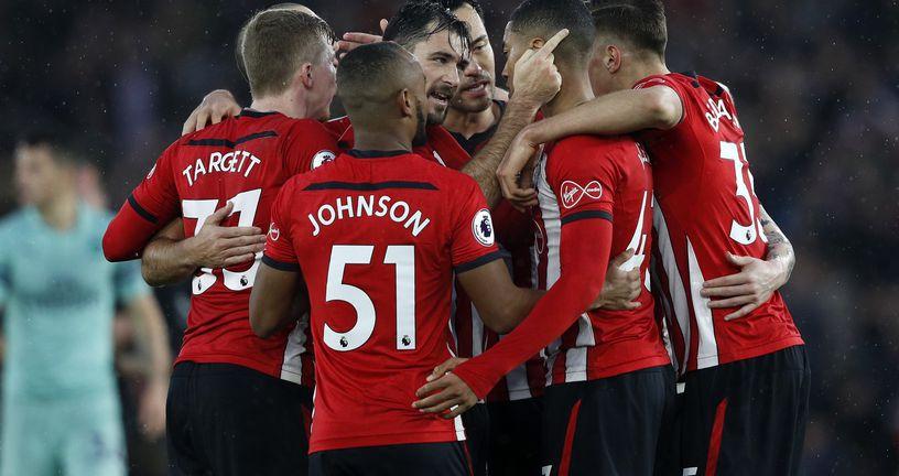 Slavlje Southamptona (Foto: AFP)
