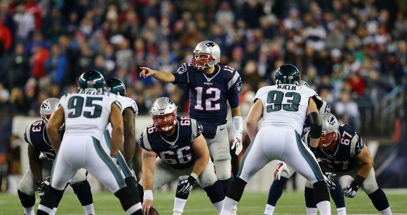 New England Patriots - Philadelphia Eagles (Foto: AFP)