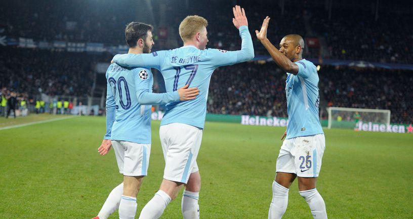 Slavlje Manchester Cityja (Foto: AFP)