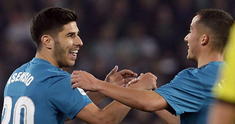 Marco Asensio i Lucas Vazquez (Foto: AFP)