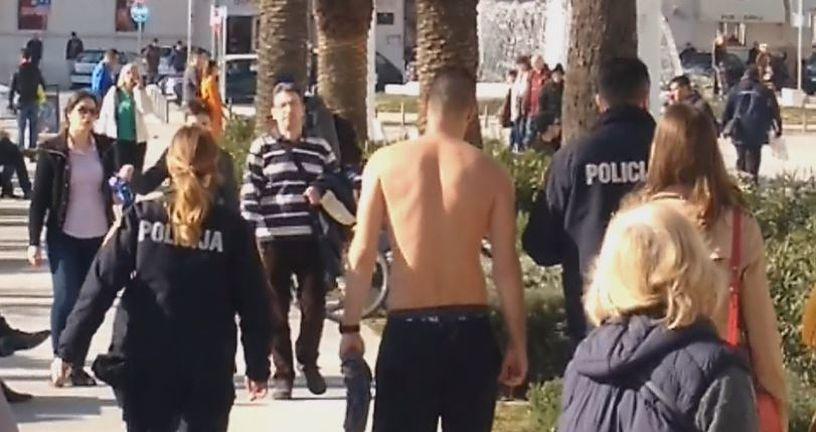 Napadnuti vaterpolist Crvene zvezde (Foto: Dnevnik.hr) - 2