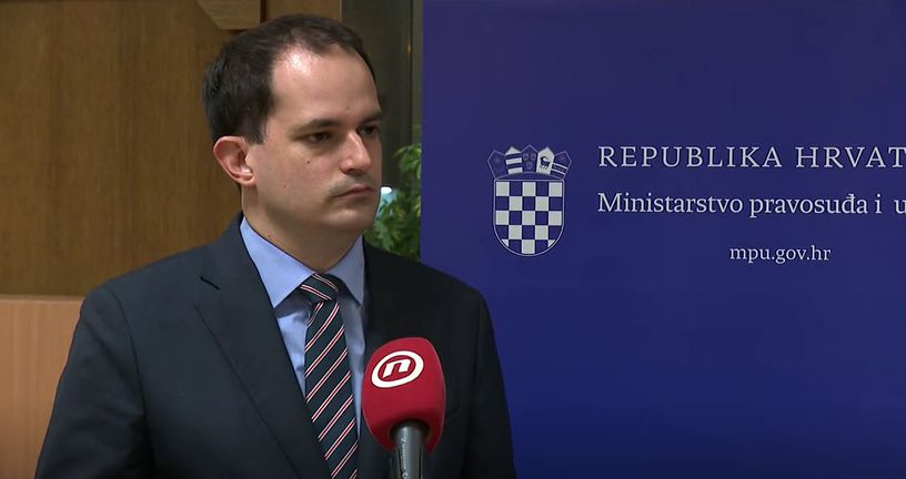Ivan Malenica, ministar pravosuđa i uprave
