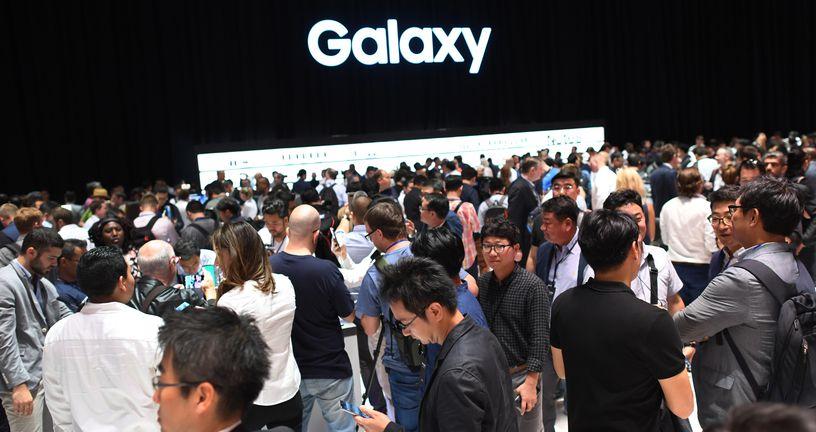 Samsung Galaxy (Foto: AFP)