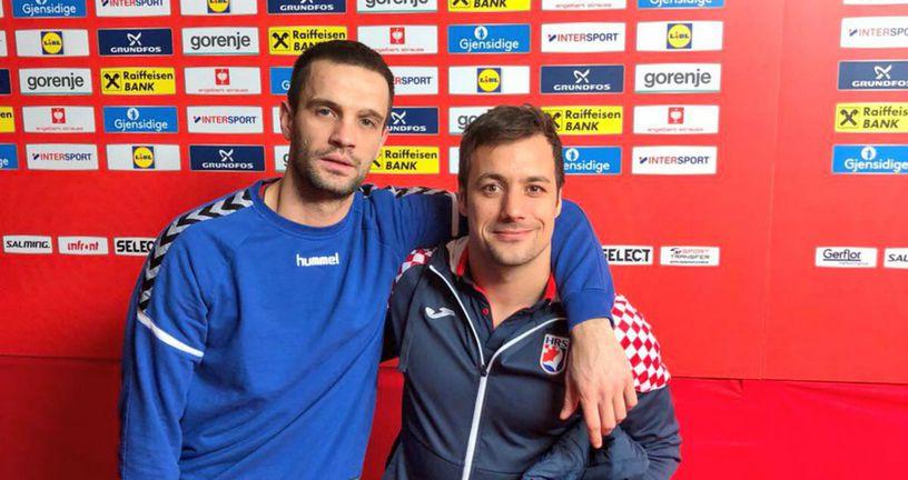 Zlatko Horvat i Dobrivoje Marković (Foto: Twitter PPD Zagreb)